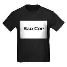 Cute Twins bad cop T