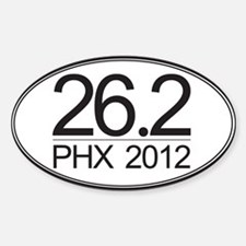 26.2 PHX Marathon Decal