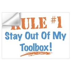 Toolbox Rules Wall Art Wall Decal