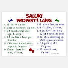 Saluki Property Laws 2 Wall Art