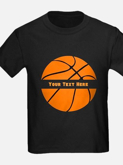 Customize Basketball Name T