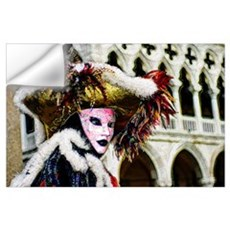 Mardi Gras Mask Art Wall Art Wall Decal