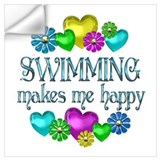 Swimming Wall Decals