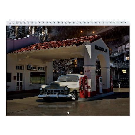 Hot Rod Wall Calendar 4