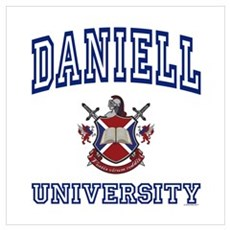 DANIELL University Wall Art Poster