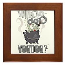 Whoo Doo Voodoo? Framed Tile