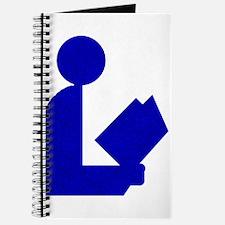 Blue Tinfoil Library Logo Journal