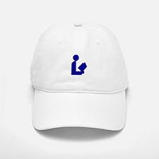 Blue Tinfoil Library Logo Baseball Baseball Cap
