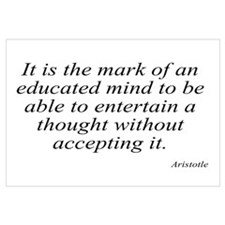 Aristotle quote 46 Wall Art