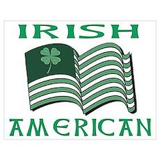 Irish American St. Patrick's Day Wall Art Poster