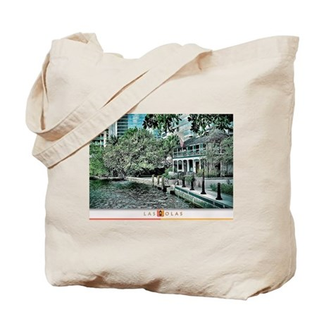 Las Olas Prints Tote Bag