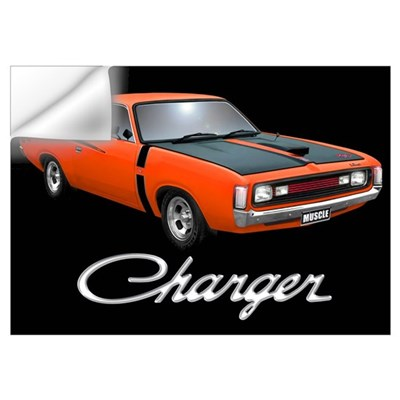Australian Charger Wall Art Wall Decal