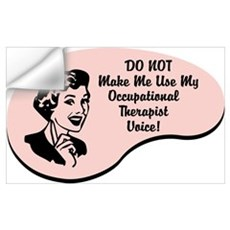 Occupational Therapist Voice Wall Art Wall Decal