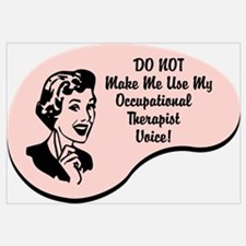 Occupational Therapist Voice Wall Art