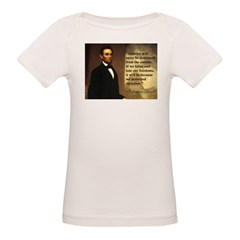 Abe Lincoln Quote Tee