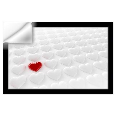 Valentine Heart Wall Art Wall Decal