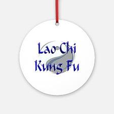 Lao Chi Kung Fu Ornament (Round)