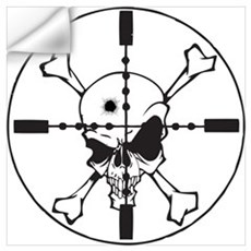 Crosshairs Wall Art Wall Decal