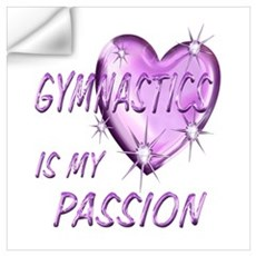 Gymnastics Passion Wall Art Wall Decal