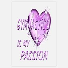 Gymnastics Passion Wall Art