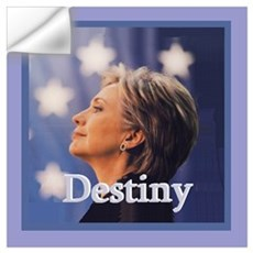 Hillary DESTINY Wall Art Wall Decal