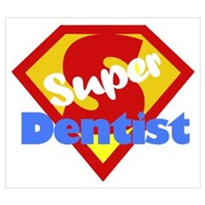 Funny Dentist Dental Humor Wall Art Poster
