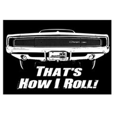How I Roll - Charger Wall Art Framed Print