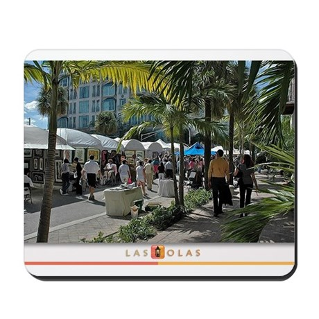 Las Olas Art Fair Print 1 Mousepad