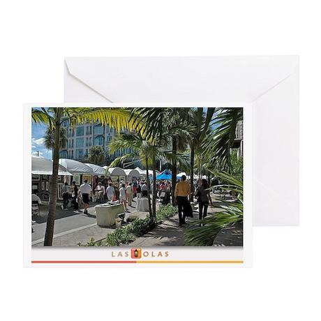 Las Olas Art Fair Print 1 Greeting Card