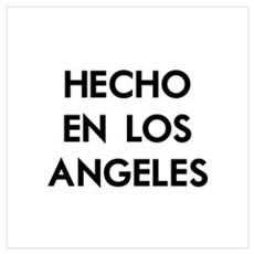 Hecho en Los Angeles Wall Art Framed Print