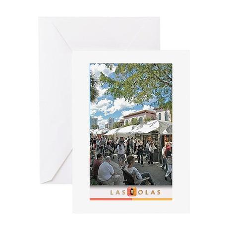 Art Fair Print 3 Greeting Card