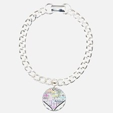 Heart Love in different langu Bracelet