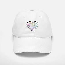 Heart Love in different langu Baseball Baseball Cap
