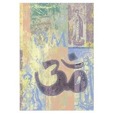 Om Abstract Wall Art