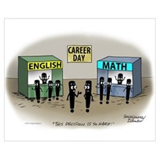 Career Day Wall Art Poster
