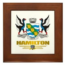 """Hamilton NZ"" Framed Tile"