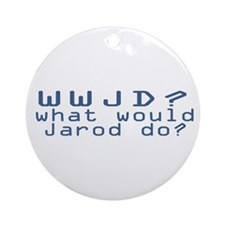 WW Jarod D? Ornament (Round)