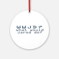 WW Jarod D? Ornament (Round)