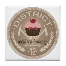 Mellark Bakery Tile Coaster