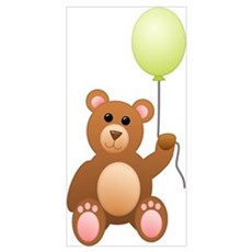Teddy Bear Wall Art Poster