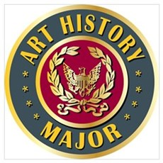 Art History Major College Course Wall Art Poster