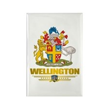 """Wellington NZ"" Rectangle Magnet"