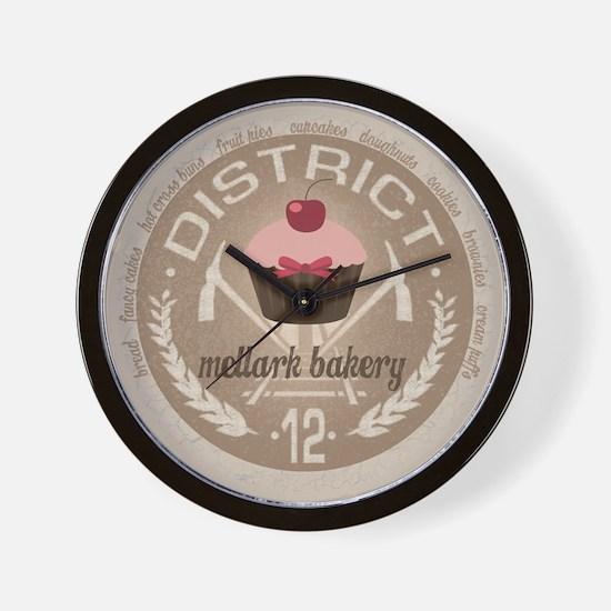 Mellark Bakery Wall Clock