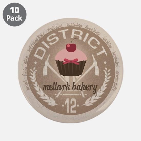"""Mellark Bakery 3.5"""" Button (10 pack)"""