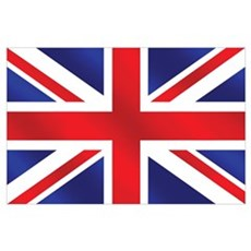 British Flag Wall Art Poster