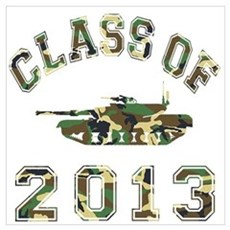 Class Of 2013 Military School Wall Art Poster