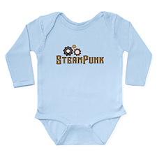 Steampunk Long Sleeve Infant Bodysuit