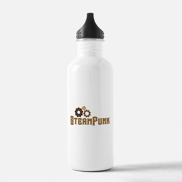Steampunk Water Bottle