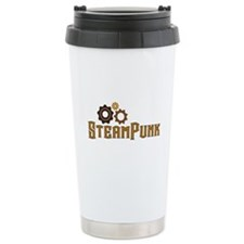 Steampunk Travel Mug