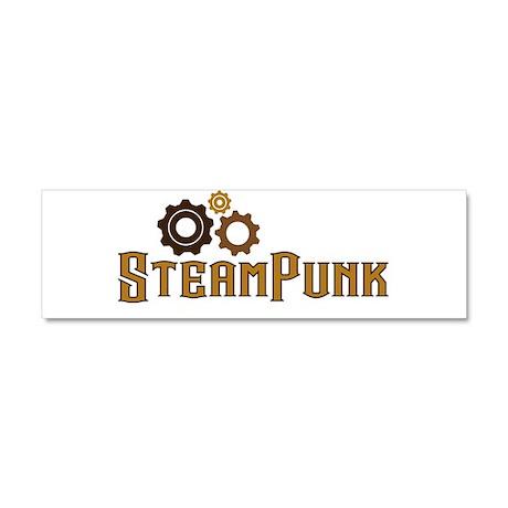 Steampunk Car Magnet 10 x 3